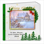 Christmas ABC book - 8x8 Photo Book (39 pages)
