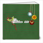 8x8 Christmas Cheers- template - 8x8 Photo Book (20 pages)