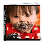 Cale s First Birthday - 6x6 Photo Book (20 pages)