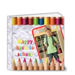 HAPPY BACK TO SCHOOL 4X4 DELUXE - 4x4 Deluxe Photo Book (20 pages)