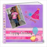 Deanamarie 3rd Birthday - 8x8 Photo Book (30 pages)