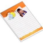 Here Comes The Sun Large Memo Pad - Large Memo Pads