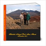 haleakaka hiking - 6x6 Photo Book (20 pages)