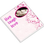 Live laugh love 2 memo pad - Small Memo Pads
