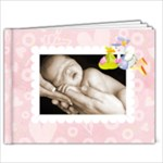 Babylove newborn baby girl bragbook new 7 x 5 - 7x5 Photo Book (20 pages)