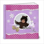 6x6- Snow Fun - 6x6 Photo Book (20 pages)