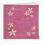 6x6 Pinky Green Album - 6x6 Photo Book (20 pages)