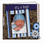 Aidan s Birth - 8x8 Photo Book (20 pages)