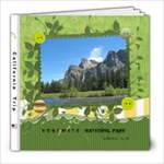 yosemite - 8x8 Photo Book (20 pages)