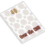 40 over the hill notepad - Large Memo Pads
