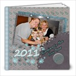 bringing in the New year template book - 8x8 Photo Book (20 pages)