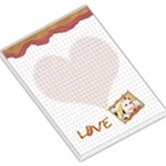 love notebook - Large Memo Pads