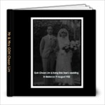 Goh CL & SB History - 8x8 Photo Book (20 pages)