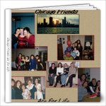Chicago Friends - 12x12 Photo Book (20 pages)