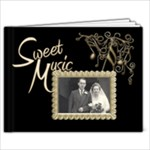 Sweet Music wedding brag book  new 7 x 5 - 7x5 Photo Book (20 pages)