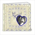 Just Married 6 x 6 Wedding Album - 6x6 Photo Book (20 pages)