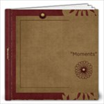 Moments 12x12 Photo Book - 12x12 Photo Book (20 pages)