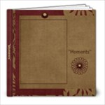 Moments 8x8 Photo Book - 8x8 Photo Book (20 pages)