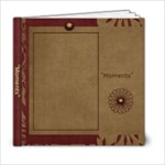 Moments 6x6 Photo Book - 6x6 Photo Book (20 pages)