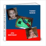 TOMMY S 4TH BIRTHDAY 2010 - 6x6 Photo Book (20 pages)