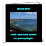 Hawaii 2010 Freinds - 8x8 Photo Book (39 pages)