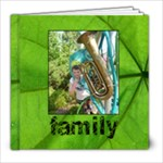 Family Simple Sentiments Classic 8 x 8 album - 8x8 Photo Book (20 pages)