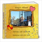 Wagon wheel - 8x8 Photo Book (20 pages)