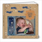 It s All About Me! 8x8 Photo Book (30 Pages)