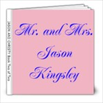 jason wedding book two of two - 8x8 Photo Book (30 pages)