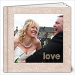 Classic Marble 12 x 12 60 page wedding album - 12x12 Photo Book (60 pages)