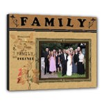 Family 20x16 Stretched Canvas - Canvas 20  x 16  (Stretched)