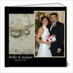 Hollie & Jackson - 8x8 Photo Book (30 pages)