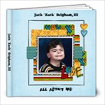 Zack s Book - 8x8 Photo Book (20 pages)