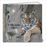 Little Lady Tigers - 8x8 Photo Book (30 pages)