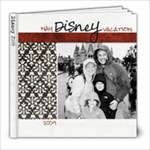 DisneyWorld 2009 - 8x8 Photo Book (80 pages)