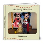 Disney World 2010 - 6x6 Photo Book (20 pages)
