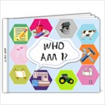 Who am i book - 9x7 Photo Book (20 pages)
