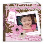 Yza 1st bday - 8x8 Photo Book (20 pages)