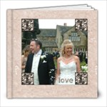Classic Marble 8 x 8 100 page wedding album 2 - 8x8 Photo Book (100 pages)