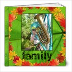 Autumn Glory Classic 8 x 8 album 39 pages - 8x8 Photo Book (39 pages)