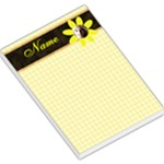 flower notepad - Large Memo Pads