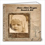 Happy Birthday Uncle Jim Dougan - 8x8 Photo Book (60 pages)