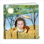 Safari 6x6 photo book - 6x6 Photo Book (20 pages)