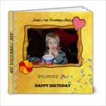 Judes Birthday - 6x6 Photo Book (20 pages)