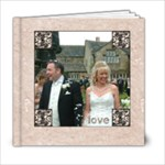 Classic Marble 6 x 6 20 page wedding album 2 - 6x6 Photo Book (20 pages)