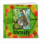 Autumn Glory Classic 6 x 6  album 20 pages - 6x6 Photo Book (20 pages)