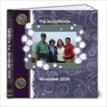California Trip 2010 - 8x8 Photo Book (20 pages)
