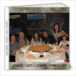 Louis / Lee / Leung Families - 8x8 Photo Book (20 pages)
