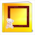 Baby girl 8x8 photo book - 8x8 Photo Book (20 pages)