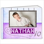 Nathan@10  9 x 7 20 page photobook - 9x7 Photo Book (20 pages)